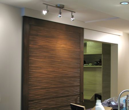 Custom Made Contemporary Sliding Barn Door