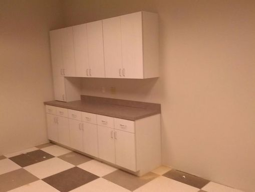 Custom Made Breakroom Cabinets