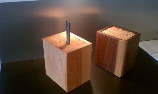 Custom Made Knife Boxes