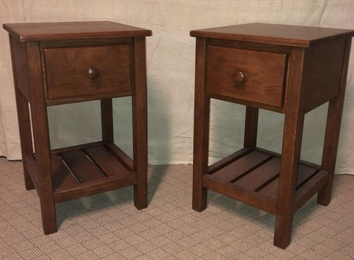 Custom Made Custom Made Mr2 Solid Cherry Side Accent Or Night Stand
