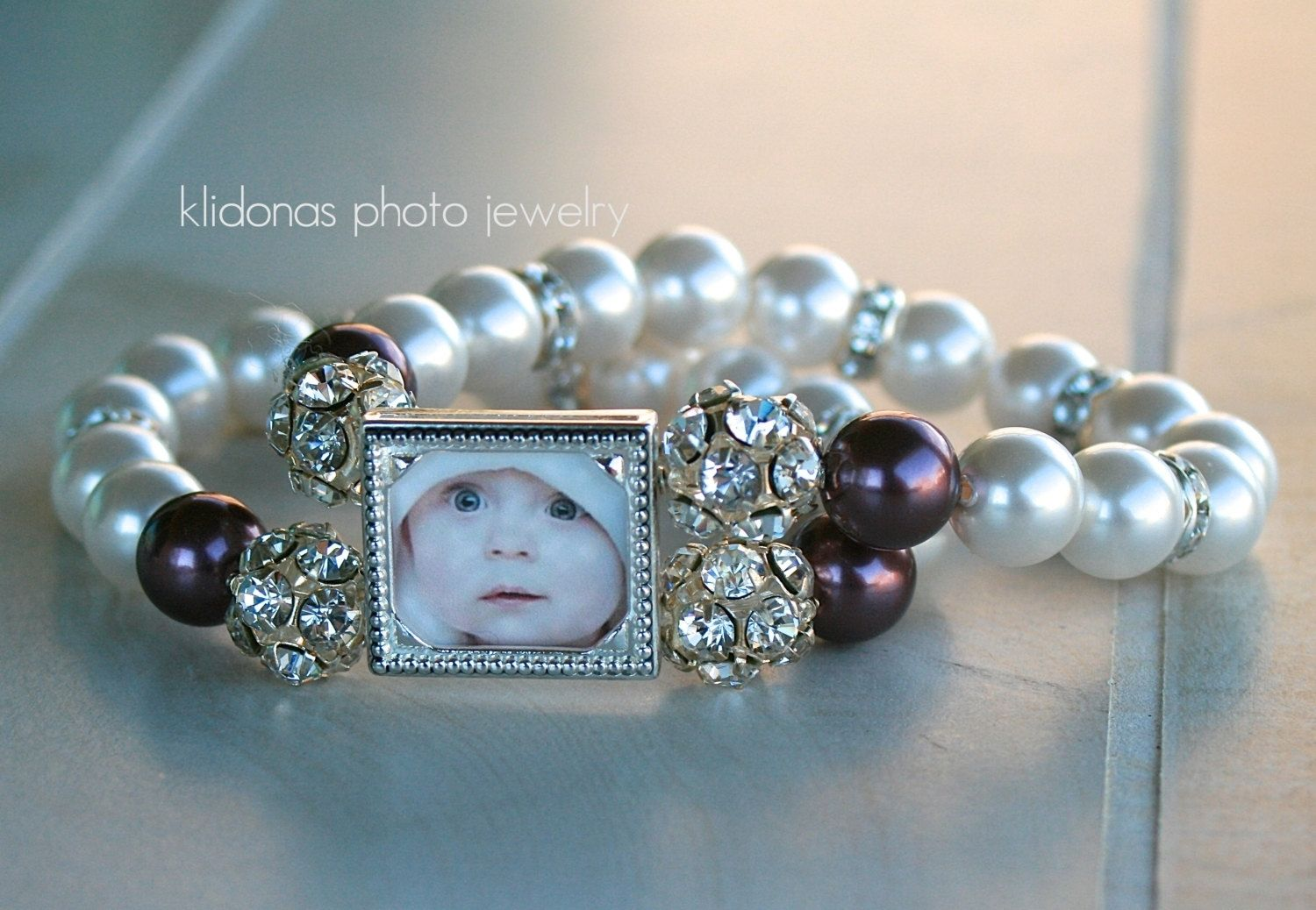 Custom Made Mother Of The Bride Bracelet Jewelry Wedding