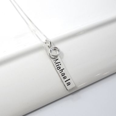 Custom Made Hand Stamped Personalized Mother Necklace