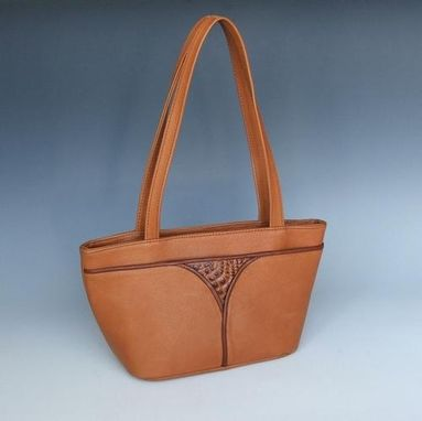 Custom Made Light Brown, Sheila Short Tote