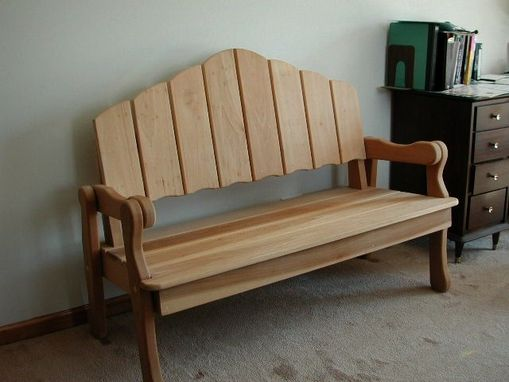 Custom Made Park Bench...Indoor/Outdoor