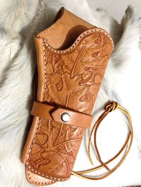 Custom Made Custom Made Leather Gun Holster.