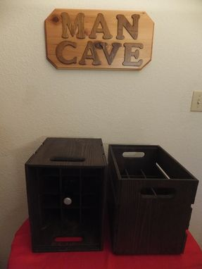 Custom Made Stackable Wooden Crates, Beer Crates, Rustic Crates