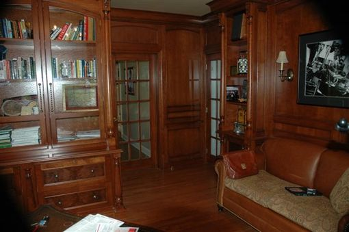 Custom Made Libraries, Home Offices, Living Room Cabinetry