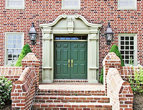 Custom Made Historic Entryway Restoration