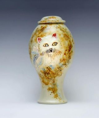 Custom Made Cat Urn