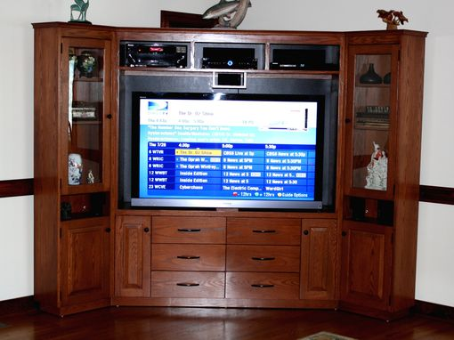 Custom Made Cherry Home Theater