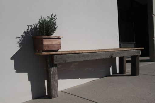 Custom Made Bench For Two