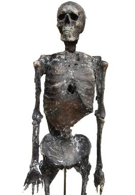 Custom Made Halloween Prop Desiccated Mummy/Skeleton