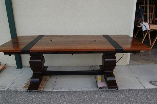 Custom Made Eloquent Reclaimed Lumber Table