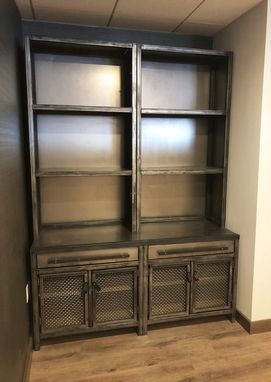 Custom Made Industrial Steel Hutch