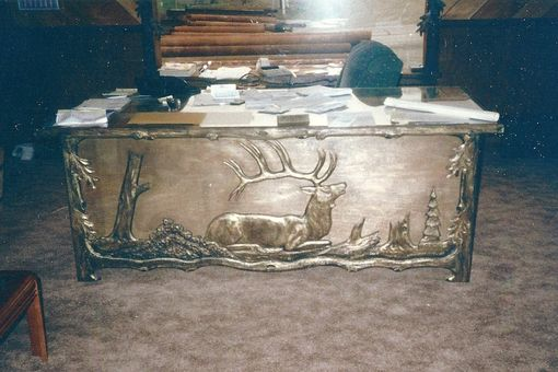 Custom Made Carved Executive Desks