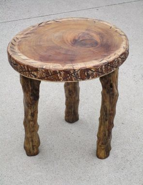 Custom Made Natural Edge Table