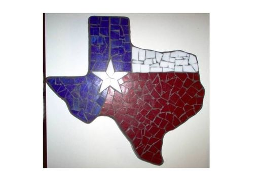 Custom Made A Fused Texas State Shaped