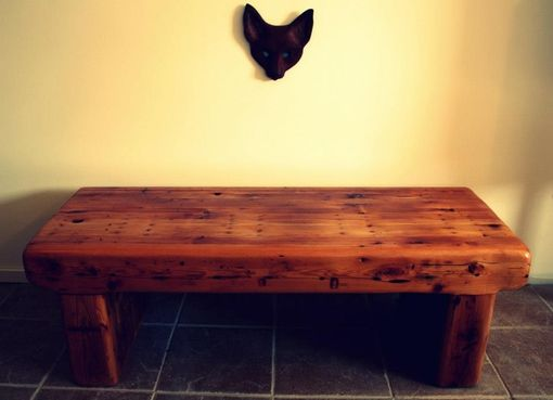 Custom Made Reclaimed Pin Bench