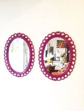 Custom Made Vintage Ornate Mirror