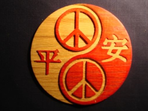 Custom Made Yinyang Of Peace