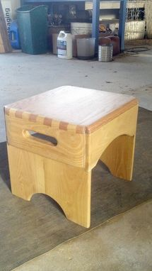 Custom Made Step Stool