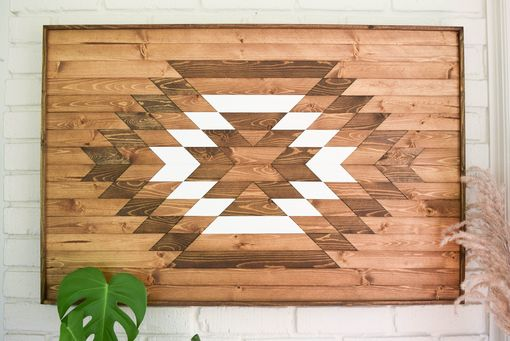 Custom Made Taos Wood Artwork