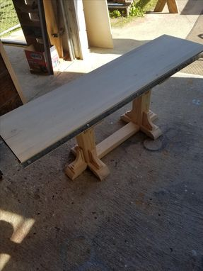 Custom Made Dining Table Bench