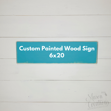 Custom Made 6x20 Custom Quote Sign-You Design
