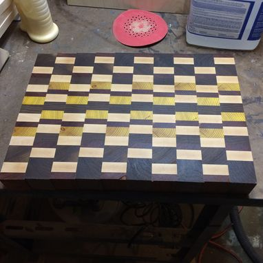 Custom Made Exotic End Grain Cutting Boards