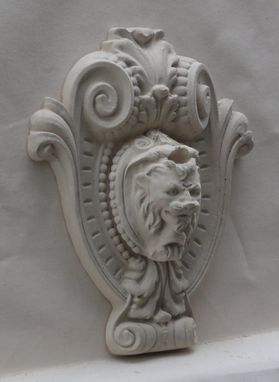 Custom Made Carved Stone Medallions