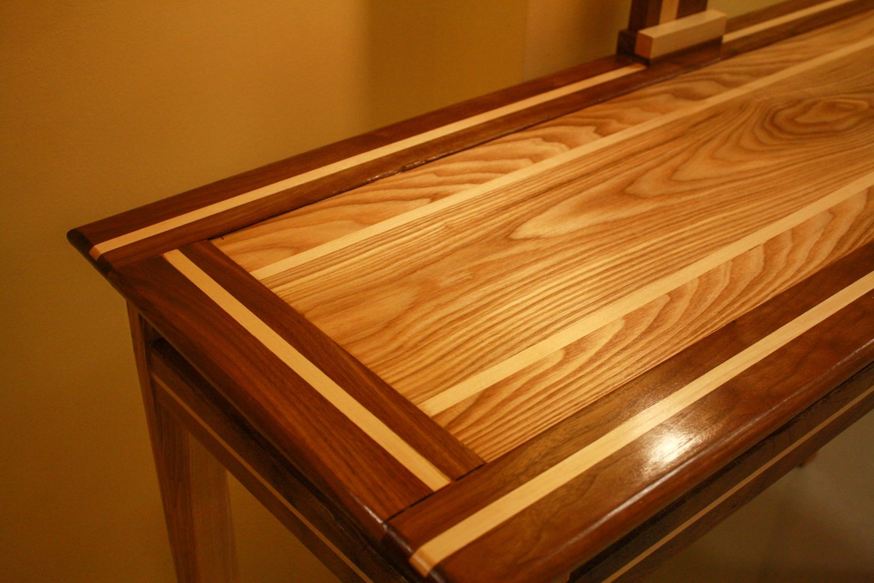 Custom Made Floating Top Hall Table