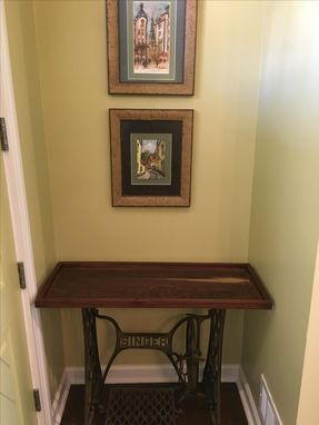 Custom Made Walnut Console Table