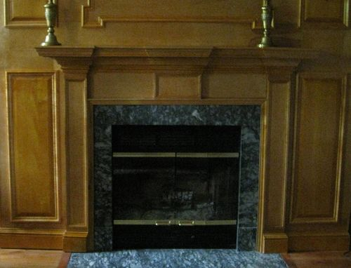 Custom Made Colonial  Style Mantel