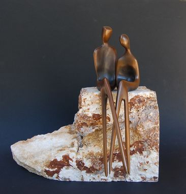 Custom Made Romantic Couple In Bronze