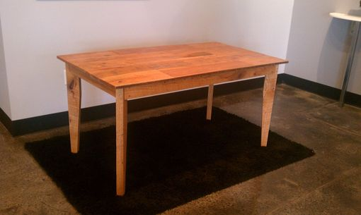 Custom Made Reclaimed Kitchen Table