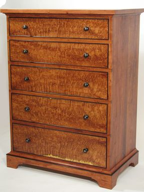 Custom Made Mesquite Chest Of Drawers