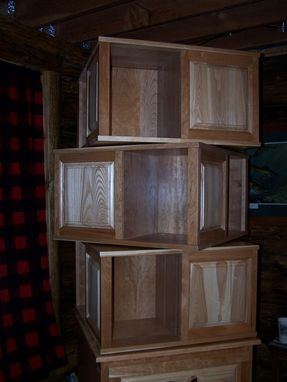 Custom Made Rotating Bookcase