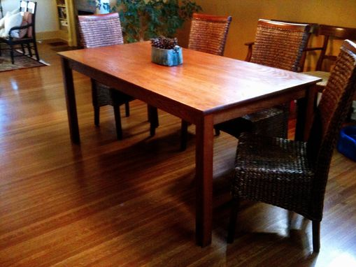 Custom Made Solid Oak Dining Table