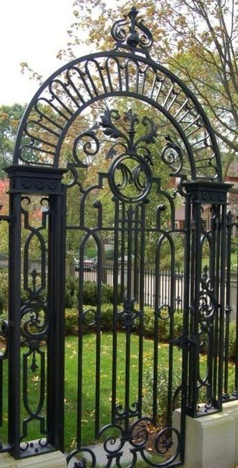 Gate And Fence Design Modern