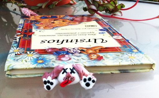 Custom Made Dog Book Bookmark - Handmade