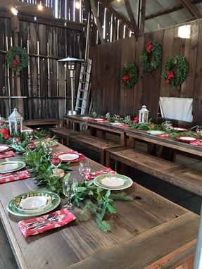 Custom Made Event Furniture Farm Tables