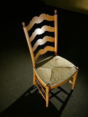 Custom Made Swedish Ladder Back Dining Chair