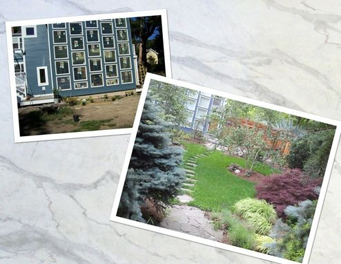 Custom Made Outdoor Stone Landscape Art