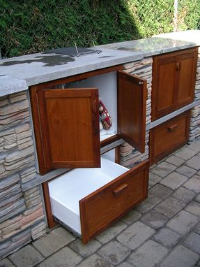 Custom Made Outdoor Kitchen Cabinetry