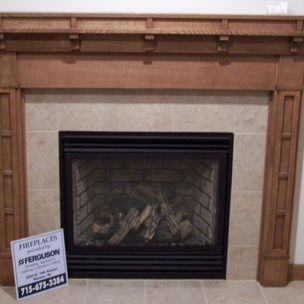 Leland franke custom woodgrains neenah wi for Craftsman style fireplace mantel plans