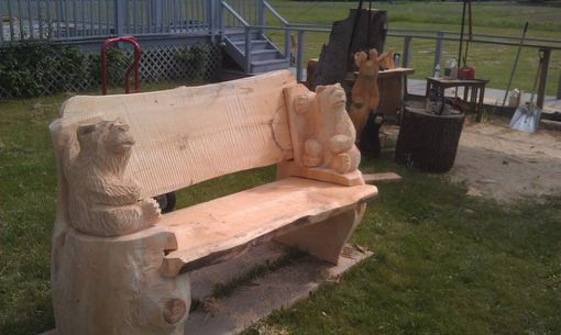 Custom Made Benches And Tables