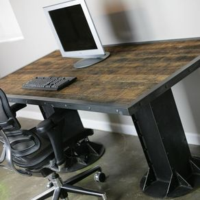 custom made office desks. modernindustrial desk vintagemodern custom sizes u0026 configurations dining table executive made office desks