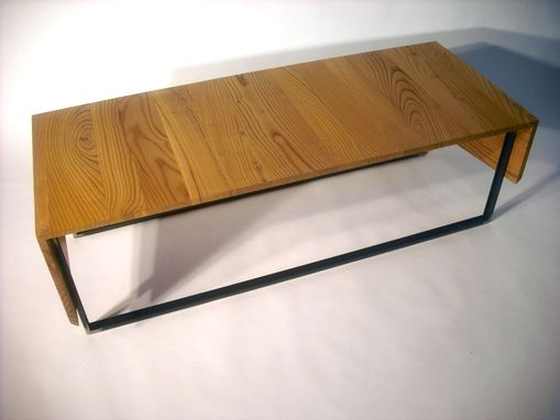 Custom Made Wrap Coffee Table - Urban Harvested Russian Olive