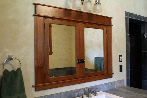Custom Made Bathroom Cabinetry