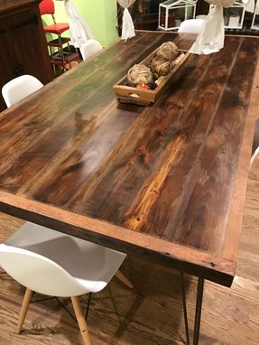 Custom Made Farm Style Dinning Room Table